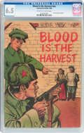 Golden Age (1938-1955):War, Blood Is the Harvest #nn (Catechetical Guild, 1950) CGC FN+ 6.5Off-white to white pages....