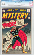Silver Age (1956-1969):Superhero, Journey Into Mystery #89 (Marvel, 1963) CGC NM- 9.2 Off-white towhite pages....