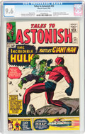 Silver Age (1956-1969):Superhero, Tales to Astonish #59 (Marvel, 1964) CGC NM+ 9.6 Off-white to white pages....