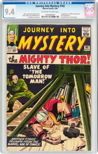 Journey Into Mystery #102 (Marvel, 1964) CGC NM 9.4 Off-white to white pages