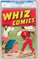 Whiz Comics #2 (#1) Incomplete (Fawcett Publications, 1940) CGC PR 0.5 Slightly brittle pages
