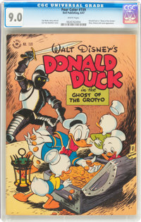 Four Color #159 Donald Duck (Dell, 1947) CGC VF/NM 9.0 White pages