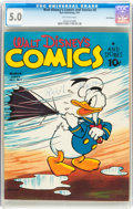 Golden Age (1938-1955):Cartoon Character, Walt Disney's Comics and Stories #6 Recil Macon Pedigree (Dell, 1941) CGC VG/FN 5.0 Off-white pages....