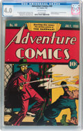Golden Age (1938-1955):Superhero, Adventure Comics #40 (DC, 1939) CGC VG 4.0 Off-white pages....