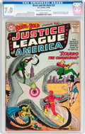Silver Age (1956-1969):Superhero, The Brave and the Bold #28 Justice League of America (DC, 1960) CGCFN/VF 7.0 Cream to off-white pages....
