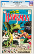 Silver Age (1956-1969):Superhero, The Brave and the Bold #34 Hawkman (DC, 1961) CGC VF/NM 9.0 Creamto off-white pages....