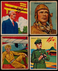 "Non-Sport Cards:Singles (Pre-1950), 1933/34 R136 National Chicle ""Sky Birds"" Card Collection (64). ..."