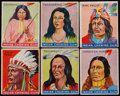 "Non-Sport Cards:Singles (Pre-1950), 1933-41 Goudey ""Indian Gum"" Card Collection (38). ..."