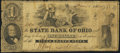 Obsoletes By State:Ohio, Piqua, OH- State Bank of Ohio, Piqua Branch $1 June 1, 1861 Wolka2206-5. ...