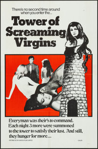 "Tower of Screaming Virgins & Other Lot (Maron Films, 1968). One Sheet (27"" X 41"") & Art Print (11""..."