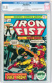 Iron Fist #1 (Marvel, 1975) CGC NM/MT 9.8 White pages