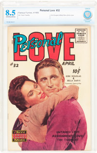 Personal Love #32 (Famous Funnies Publications, 1955) CBCS VF+ 8.5 Off-white to white pages
