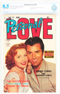 Golden Age (1938-1955):Romance, Personal Love #27 (Famous Funnies Publications, 1954) CBCS VF+ 8.5Off-white to white pages....