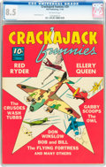 Golden Age (1938-1955):Miscellaneous, Crackajack Funnies #29 (Dell, 1940) CGC VF+ 8.5 Off-white pages....