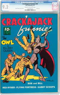 Crackajack Funnies #35 (Dell, 1941) CGC NM- 9.2 Cream to off-white pages