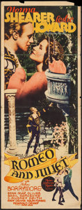 "Movie Posters:Drama, Romeo and Juliet (MGM, 1936). Insert (14"" X 36""). Drama.. ..."
