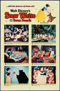 "Movie Posters:Animation, Snow White and the Seven Dwarfs (Buena Vista, R-1967). One Sheet(27"" X 41"") Style B. Animation.. ..."