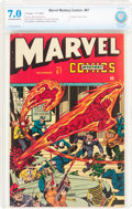 Golden Age (1938-1955):Superhero, Marvel Mystery Comics #67 (Timely, 1945) CBCS FN/VF 7.0 Off-white to white pages....