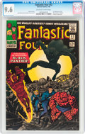 Silver Age (1956-1969):Superhero, Fantastic Four #52 (Marvel, 1966) CGC NM+ 9.6 Off-white to white pages....