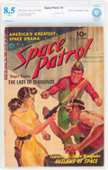 Golden Age (1938-1955):Science Fiction, Space Patrol #1 Cosmic Aeroplane Pedigree (Ziff-Davis, 1952) CBCSVF+ 8.5 White pages....