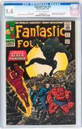 Silver Age (1956-1969):Superhero, Fantastic Four #52 (Marvel, 1966) CGC NM 9.4 Off-white to whitepages....