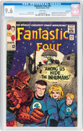 Silver Age (1956-1969):Superhero, Fantastic Four #45 Twin Cities Pedigree (Marvel, 1965) CGC NM+ 9.6White pages....