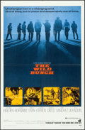 """Movie Posters:Western, The Wild Bunch (Warner Brothers, 1969). One Sheet (27"""" X 41""""). Western.. ..."""