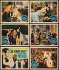 """Movie Posters:Comedy, One Heavenly Night (United Artists, 1931). Title Lobby Card & Lobby Cards (5) (11"""" X 14""""). Comedy.. ... (Total: 6 Items)"""