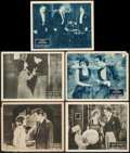 "Movie Posters:Drama, The Wolf Man & Other Lot (Fox, 1924). Lobby Cards (5) (11"" X 14""). Drama.. ... (Total: 5 Items)"