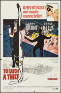 """Movie Posters:Hitchcock, To Catch a Thief (Paramount, R-1965). One Sheet (27"""" X 41"""").Hitchcock.. ..."""