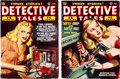 Pulps:Detective, Detective Tales Group of 2 (Popular Publications, 1947) Condition: Average FN.... (Total: 2 Comic Books)