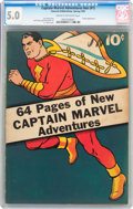Golden Age (1938-1955):Superhero, Captain Marvel Adventures #nn (#1) (Fawcett Publications, 1941) CGCVG/FN 5.0 Cream to off-white pages....