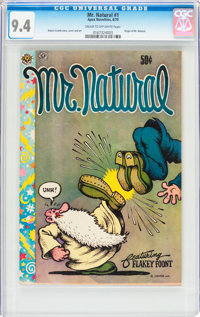 Mr. Natural #1 First Printing (Apex Novelties/San Francisco Comic Book Company, 1970) CGC NM 9.4 Cream to off-white page...