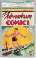 Golden Age (1938-1955):Adventure, New Adventure Comics #18 (DC, 1937) CGC Qualified GD/VG 3.0 Cream to off-white pages....