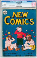 Golden Age (1938-1955):Cartoon Character, New Comics #6 (DC, 1936) CGC GD/VG 3.0 Off-white pages....