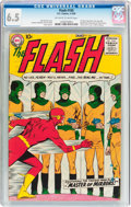 Silver Age (1956-1969):Superhero, The Flash #105 (DC, 1959) CGC FN+ 6.5 Off-white to white pages....