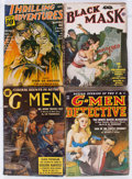 Pulps:Adventure, Assorted Adventure and Detective Pulps Group of 5 (Various, 1939-50) Condition: Average VG-.... (Total: 5 Items)