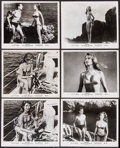 """Movie Posters:Foreign, The Girl in the Bikini (Atlantis Films, 1958). First U.S. Release Photos (16) (8"""" X 10"""") & Uncut Pressbook (6 Pages, 9"""" X 13... (Total: 17 Items)"""