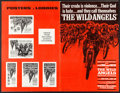 """Movie Posters:Exploitation, The Wild Angels & Others Lot (American International, 1966).Uncut Pressbooks (14) (Multiple Pages, 17"""" X 11"""", 9.5"""" X 15.25""""...(Total: 15 Items)"""