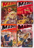 Pulps:Science Fiction, Marvel Science Stories Complete Series Group of 5 (Red Circle,1938-39) Condition: Average VG-.... (Total: 5 Items)