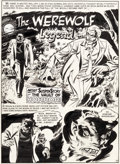 Original Comic Art:Complete Story, Harry Harrison and Wally Wood Vault of Horror #12 Complete 7-Page Story Original Art (EC, 1950).... (Total: 7 Original Art)