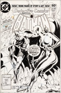 Original Comic Art:Covers, Denys Cowan and Dick Giordano Detective Comics #507 CoverOriginal Art (DC, 1981)....