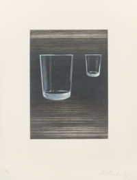 Ed Ruscha (b. 1937) Sunliners (set of seven), 1996 Etchings with aquatint in colors on Hahnemüle pap