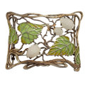 Estate Jewelry:Brooches - Pins, Enamel, Glass, Silver Brooch. ...