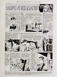 Tom Hickey and others - Harvey Romance Comics Feature Page Original Art, Group of 9 (Harvey, circa 1957). Nine passionat...