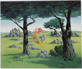 "Animation Art:Limited Edition Cel, ""In the Rough"" Limited Edition Hand-Painted Cel #98/100 OriginalArt (Walter Lantz Productions, 1992). This limited edition ...(Total: 2 Items)"