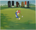 "Animation Art:Limited Edition Cel, ""Golfing Fool"" Limited Edition Hand Painted Cel InternationalEdition #9/25 Original Art (Walter Lantz Productions, 1992). R...(Total: 2 Items)"