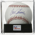 Autographs:Baseballs, Tom Seaver Single Signed Baseball, PSA Gem Mint 10. You won't finda better example of HOF hurler Tom Seaver's signature th...