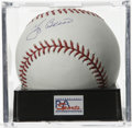 Autographs:Baseballs, Yogi Berra Single Signed Baseball, PSA Gem Mint 10. Gem Mint singlefrom Yogi Berra is up for grabs here. Ball has been en...