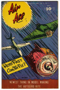 """Golden Age (1938-1955):War, Air Ace V3#4 Davis Crippen (""""D"""" Copy) pedigree (Street & Smith, 1946) Condition: VF/NM. Ray Evans cover. Overstreet 2006 VF/..."""